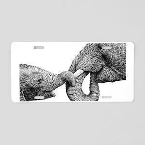 African Elephant Galaxy Not Aluminum License Plate