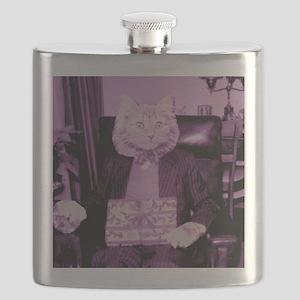 Cat Presents Flask