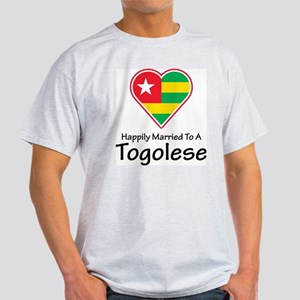 Happily Married Togolese Light T-Shirt
