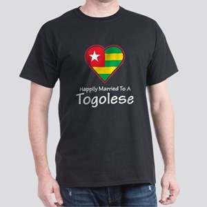 Happily Married Togolese Dark T-Shirt