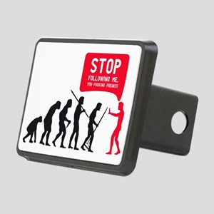 Evolution is following me Rectangular Hitch Cover