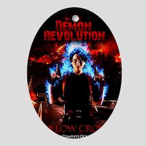 Demon Revolution (Oceans of Red) Oval Ornament