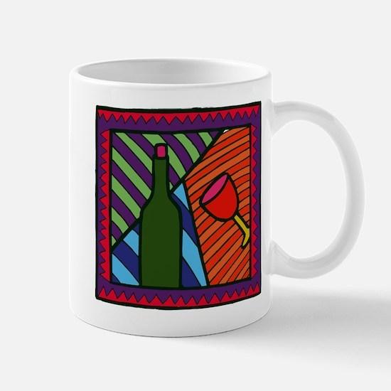 Wine Decor Mug