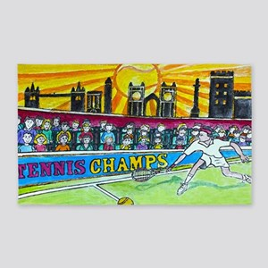 Tennis Champ 3'x5' Area Rug