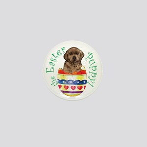 Easter Chocolate Lab Mini Button