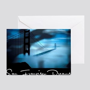 San Francisco Dreams Placemats Greeting Card