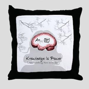 Knowledge Throw Pillow