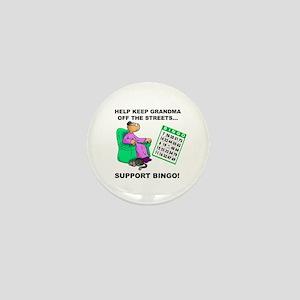 Support Bingo Mini Button