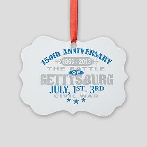 150 Gettysburg Civil War Picture Ornament
