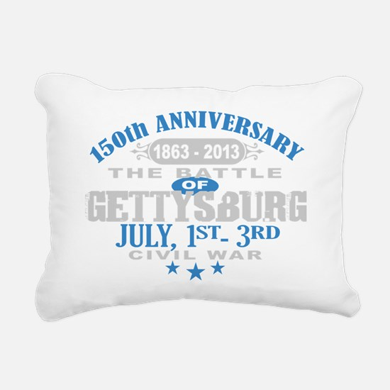 150 Gettysburg Civil War Rectangular Canvas Pillow