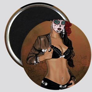 Mariachi Pin-up Art Magnet