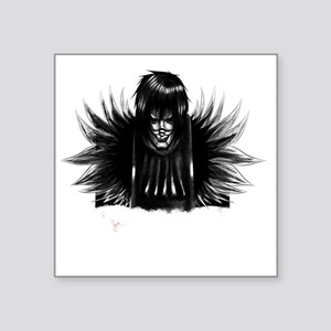 "Creepy Laughing Jack Square Sticker 3"" x 3"""