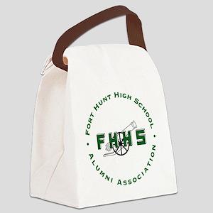 Fort Hunt High School Alumni Asso Canvas Lunch Bag