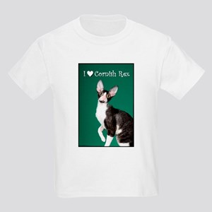 Cornish Rex Kids Light T-Shirt