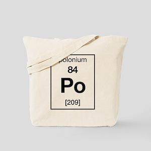 Polonium Tote Bag