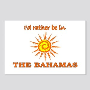 I'd Rather Be In The Bahamas Postcards (Package of