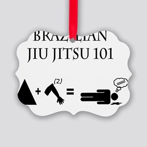 Brazilian Jiu Jitsu Theory Picture Ornament