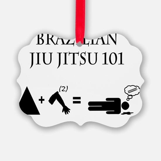 Brazilian Jiu Jitsu Theory Ornament