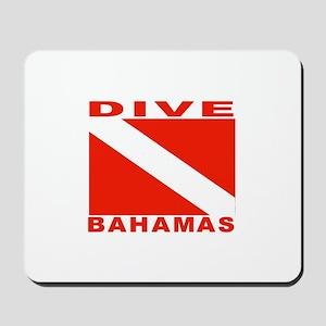 Dive Bahamas Mousepad