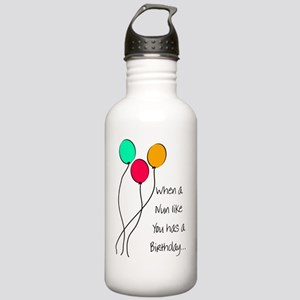 When a nun Birthday Stainless Water Bottle 1.0L