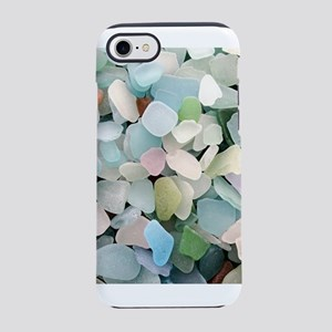 Sea glass iPhone 7 Tough Case