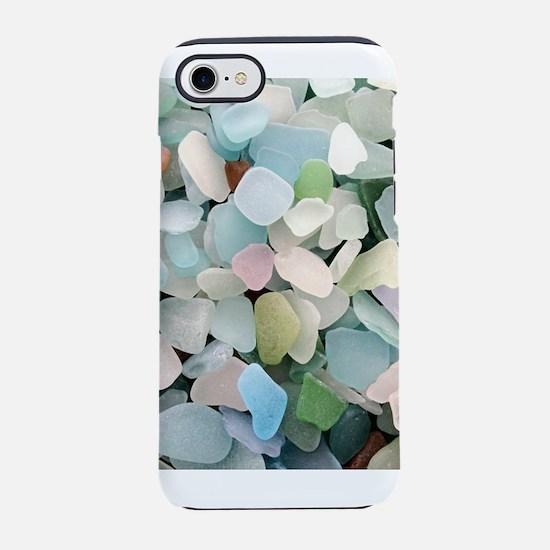Sea glass iPhone 7 Tough Case