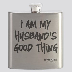 My Husbands Good Thing Flask