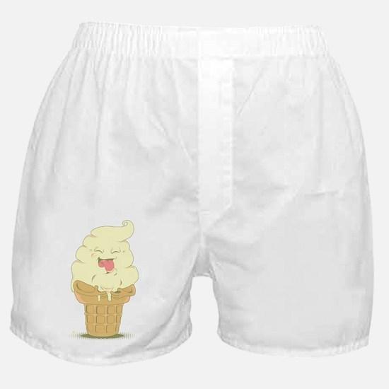 Nom Nom Vanilla Boxer Shorts
