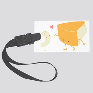 Mac and Cheese Forever Large Luggage Tag