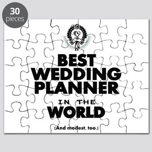 The Best in the World Wedding Planner Puzzle