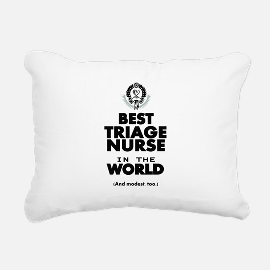 The Best in the World Nurse Triage Rectangular Can