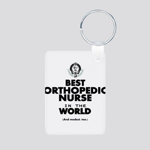 The Best in the World Nurse Orthopedic Keychains