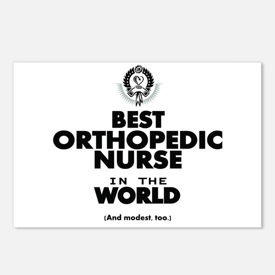 The Best in the World Nurse Orthopedic Postcards (