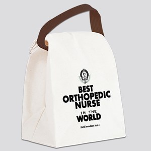The Best in the World Nurse Orthopedic Canvas Lunc