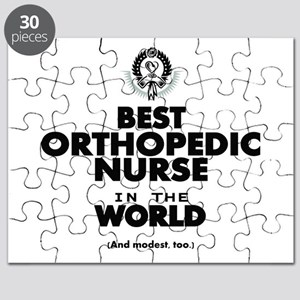 The Best in the World Nurse Orthopedic Puzzle