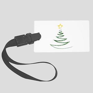 OH CHRISTMAS TREE Large Luggage Tag