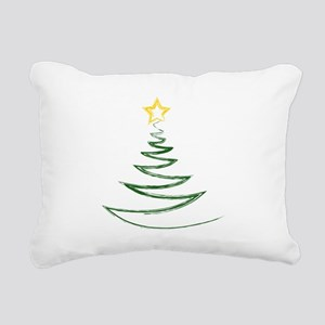 OH CHRISTMAS TREE Rectangular Canvas Pillow
