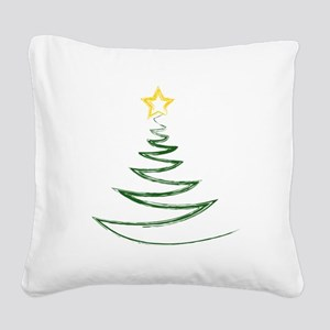 OH CHRISTMAS TREE Square Canvas Pillow