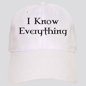 I Know Everything Cap