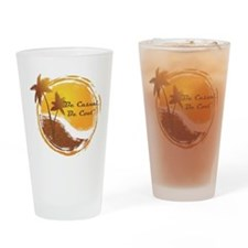 Be Casual, Be Cool Drinking Glass
