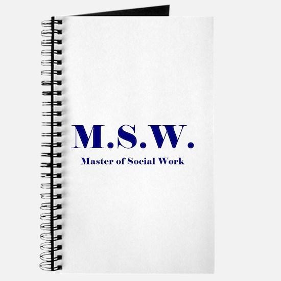 MSW (Design 2) Journal