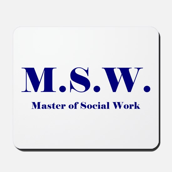 MSW (Design 2) Mousepad