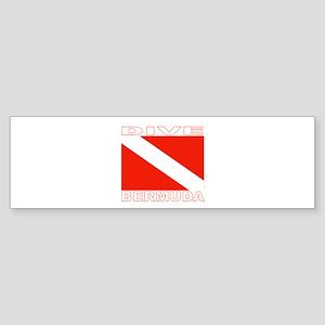Dive Bermuda Bumper Sticker