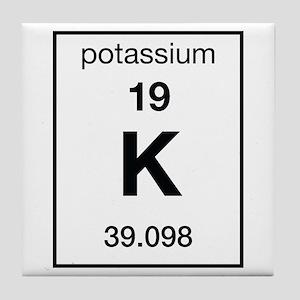 Element potassium coasters cafepress potassium tile coaster urtaz Images