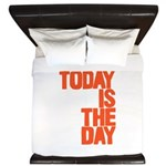 Today is the day King Duvet
