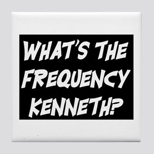 WHAT'S THE FREQUENCY? Tile Coaster