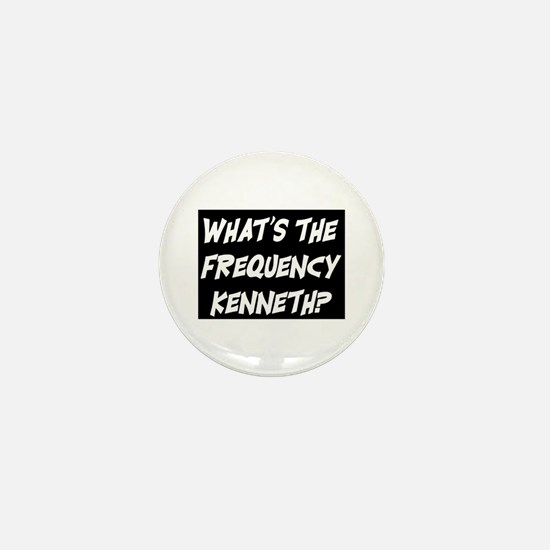 WHAT'S THE FREQUENCY? Mini Button
