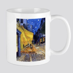 Cafe Terrace At Night By Vincent Van Gogh Mugs