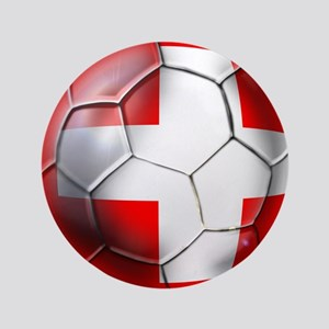 "Switzerland Football 3.5"" Button"
