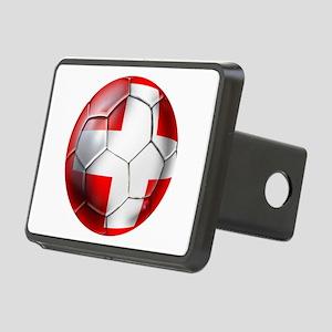 Switzerland Football Rectangular Hitch Cover